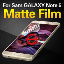 Ultra Thin High Clear Screen Protector Film Anti Fingerprint Anti Glare PET Screen Protector For Samsung Galaxy Note5