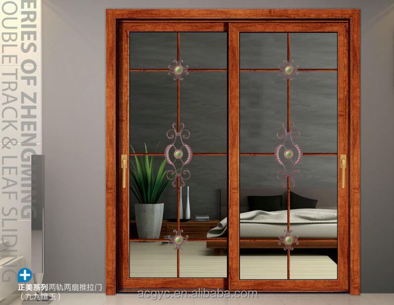2016 vidrio esmerilado puerta de la cocina/gabinete de cocina ...