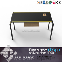 Wooden portable computer table desk design without wheels