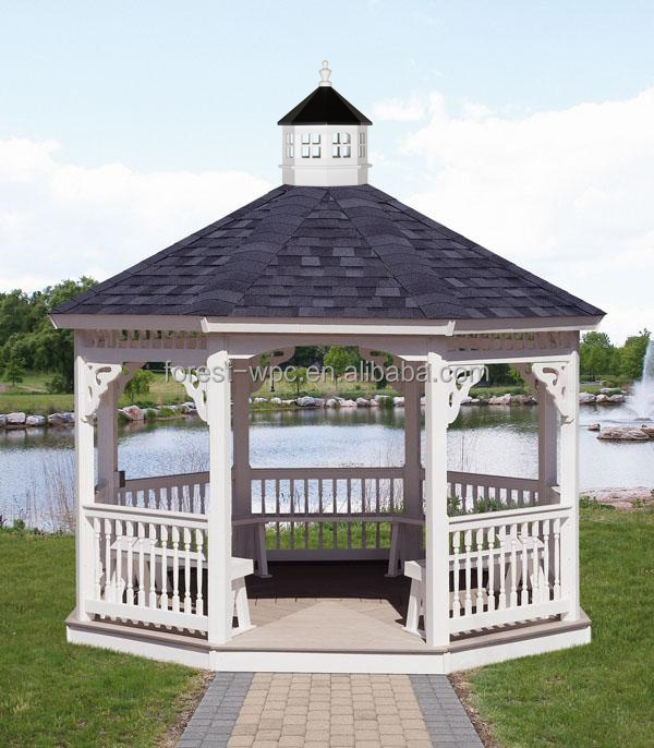 pavillon de jardin gazebo jardin sur le toit plat gazebo. Black Bedroom Furniture Sets. Home Design Ideas