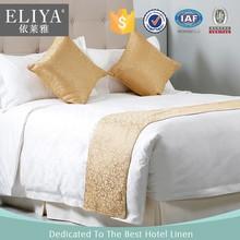 Golden hotel duvet cover set linen/eliya modern table cloth