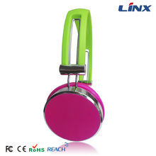Changing color head phones cheap and simple mobile phone earphone