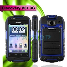 Waterproof 3.5 inch dual camera bluetooth Discovery V5+ 3G Android 4.2 hong kong cheap price mobile phone