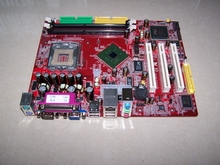 ESONIC BOXD 865 motherboard , 478 socket, DDR ,DESIGN HOUSE, biggest manufacturer
