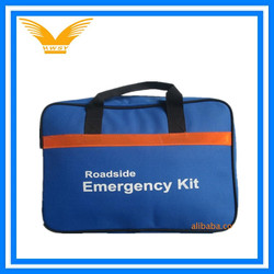 professional roadside emergency kit empty bag
