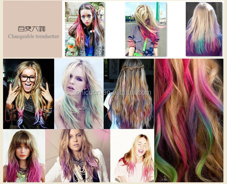 36 Pcs Soft Pastel Colored Hair Chalk Temporary Hair Dye For Party