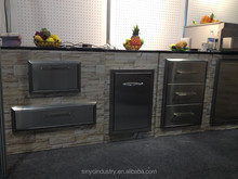 BBQ stainless drawers outdoor