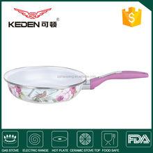 Cooking pan set with ceramic coating , indian cooking pan, camping frypan