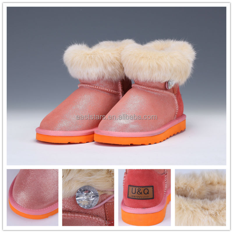 2014 newly design winter children boots
