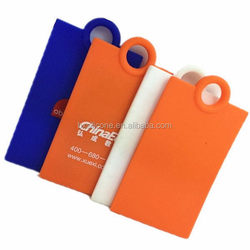 High quality hot selling 2015 design silicone luggage tag