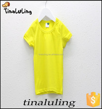 New Arrival Wholesale t shirts for OEM and ODM, children white t shirts t-shirts printing 2015