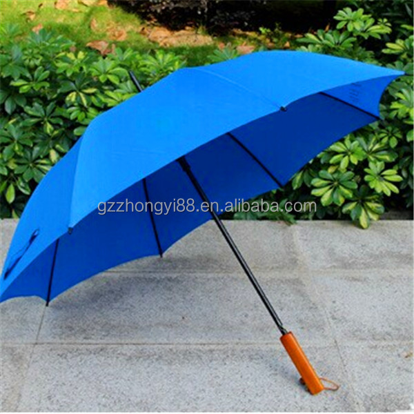 SANYI durable bright color wooden rain umbrella