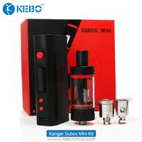 Kanger alibaba online shop kebo supply subox mini kit 60w variable wattage e cig box mod kit