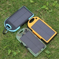 solar panel powerful 10000mah waterproof new portable power banks
