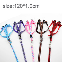 Dog chest back traction rope traction with a dog rope P chain dog dog chain dog dog dog pet dog 120*1.0cm