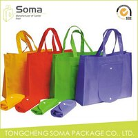Best quality hot sale fashion foldable non woven bags