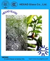 High Quality Chinchilla Pattern/Figured Glass for Decorative