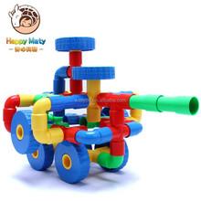 Plastic Pipe Blocks Building Toys