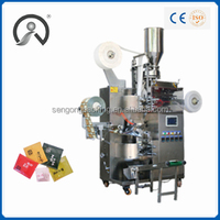 C18 Filter Paper Tea Bag Packaging Machine with inner bag and envelope