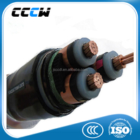 3 core braided wire 150mm2 power cable