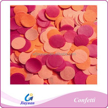 Colorful wedding confetti paper hand throwing confettis party favors balloons nursery baby shower decoration