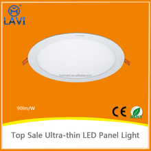 Bright thin round slim led ceiling panel light 3w 6w 12w 15w 18w for office,home light