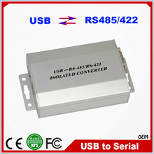 Wholesale 1 Port USB to RS485/RS422 Isolated Serial Converter DB9 Connector RJ45 Converter RS485