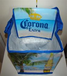 PP Woven Cooler Bag ,1.5l bottle wine cooler bag