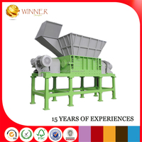 Tyre Shredder manual plastic shredder and crusher for sale Producer