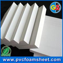 20mm high density pvc foam sheet(RoHs passed)/hot size 1.22m*2.44m/biggest manufacturer in Shanghai