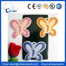 butterfly car air freshener Welcome your OEM Logo