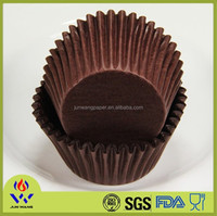Chocolate cupcake wrapper made in china