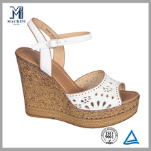 Elegant women summer platform sandals ladies platform shoes