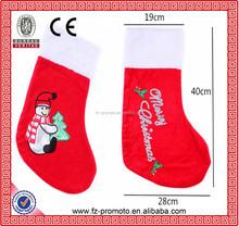 cute Christmas stocking / new trend christmas stocking in 2015/Christmas stocking for decoration