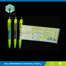 Most Popular Info Pen, Multifunction Banner Pens, Promotional Flyer Pen