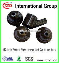 Iron Pieces Plate Bronze and Dye Black Salt replacement solution of chemical plating
