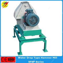 Water drop type hammer mill for cattle feed