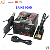 Hot air gun repair rework station SAIKE 909D Soldering station/Welding Machine 3 in 1 Soldering iron+Air Gun+Power Supply