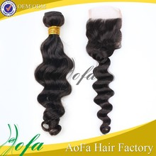 Full cuticle double weft No dry,No split ends,No tangle No shedding high quality true human virgin hair
