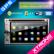Xtrons-- TD630A - 6.2'' Multi-touch Screen 1080P Wifi Double Din Car DVD Player