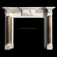 English Style Fireplace Decorative Fireplace Mantles SF18