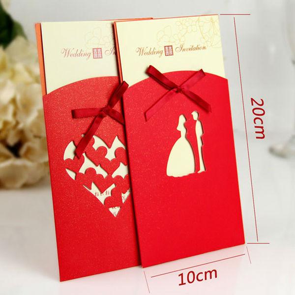 Chinese Wedding Gift Envelope : 2014 new design chinese stytle red envelope wedding invitation card