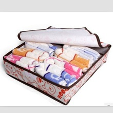 Modern fashion design home clothing organizer storage box container