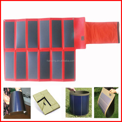 1mm Thickness foldable solar panel for army