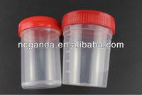 PP split specimen collection urine bottles for men