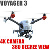 Professional Voyager 3 HD camera Collapsible Flying Bird GPS 360 degree gimbal rc helicopter