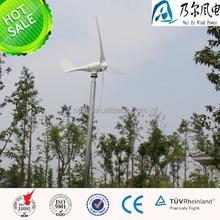 Envío gratis! mini viento generador de energía 400 w turbina de viento con buena calidad, CE aprobó