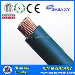 PFA Insulation and PE insulation PVC electrical wire size copper Conductor electrical wire cable 25mm 35mm 50mm