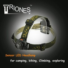(1500342) Hi-end LED R3 AAA Battery Aluminum Alloy 3 Modes Portable Head Lamp