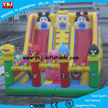 Best price high quality combo games and inflatable bouncer/inflatable slide castle--Jumping slide